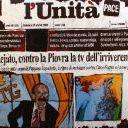 Pino Maniaci, direttore di TeleJiato - Olio su tela di Gaetano Porcasi