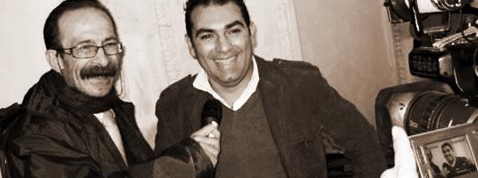 Pino Maniaci e Gero Tedesco