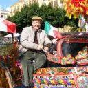 I Carretti Siciliani chiudono il corteo dei gruppi Folk