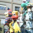 Carnevale aragonese, sfilata dei carri di allegorici