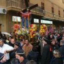 Venerdì Santo, processione sotto il diluvio