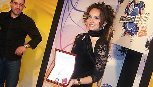 Miss I Love Agrigento, premiata Alessandra Negrin negli studi di Generazione No Stop