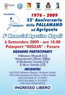 Pallamano Girgenti, 4° Memoral Agostino Napoli