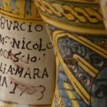 DETTAGLIO ALBARELLO DEL MAESTRO LO CASCIO 1703